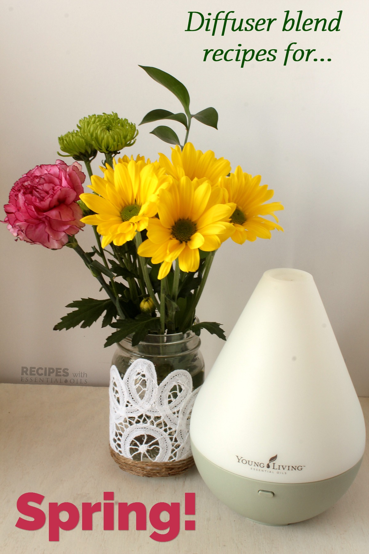 spring essential oil diffuser recipes