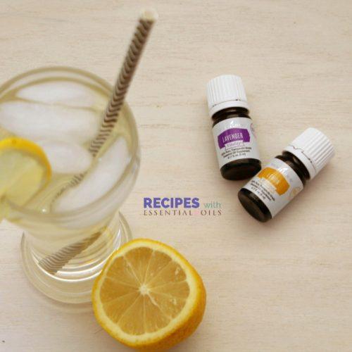 Homemade Lavender Lemonade from RecipeswithEssentialOils.com