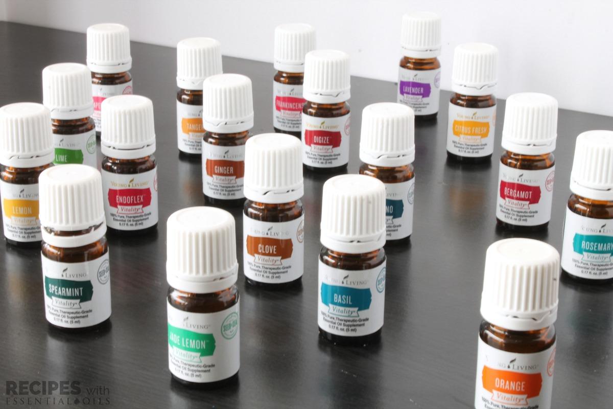 NingXia Red Shots Recipes Vitality Oils