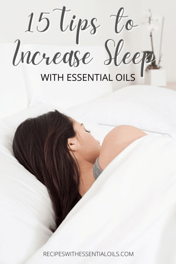 how to increase sleep with essential oils