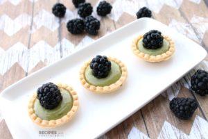 No Bake Recipe for Avocado Lime Tarts