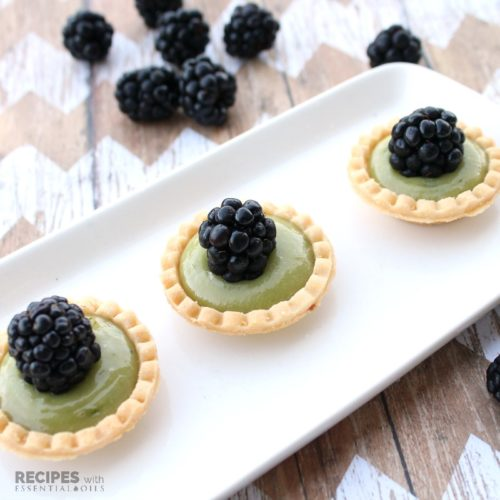 Avocado Lime Tarts Recipe from RecipeswithEssentialOils.com