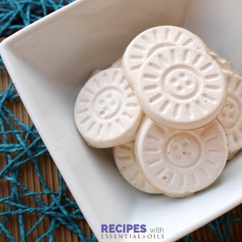 Freshen your home naturally with these easy Deodorizing Disks from RecipeswithEssentialOils.com