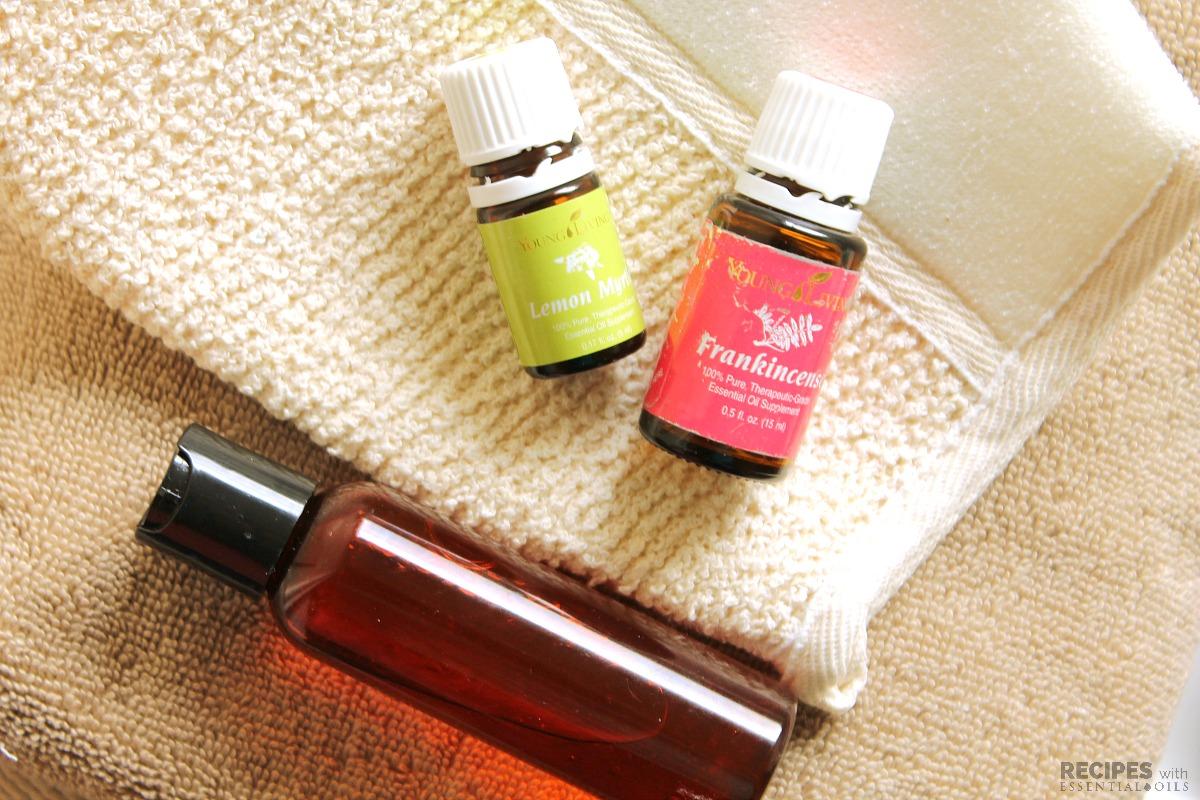 Frankincense and Lemon Myrtle Body Wash