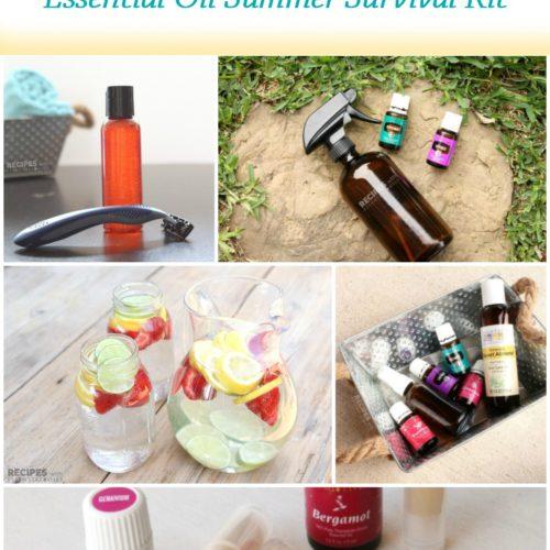 Fun in the Sun Essential Oil Summer Survival Kit from RecipeswithEssentialOils.com