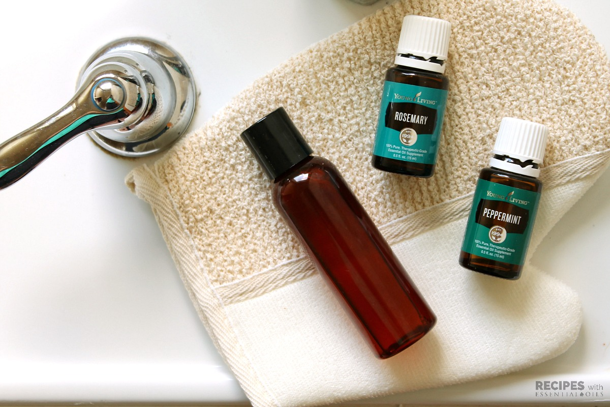 Peppermint and Rosemary Body Wash Recipe
