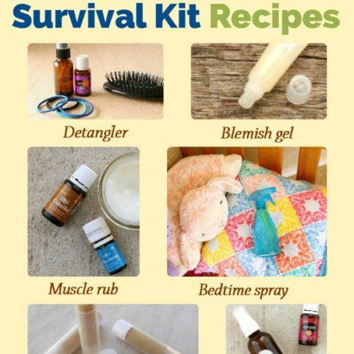 18 Summer Camp Survival Kit Recipes from RecipeswithEssentialOils.com