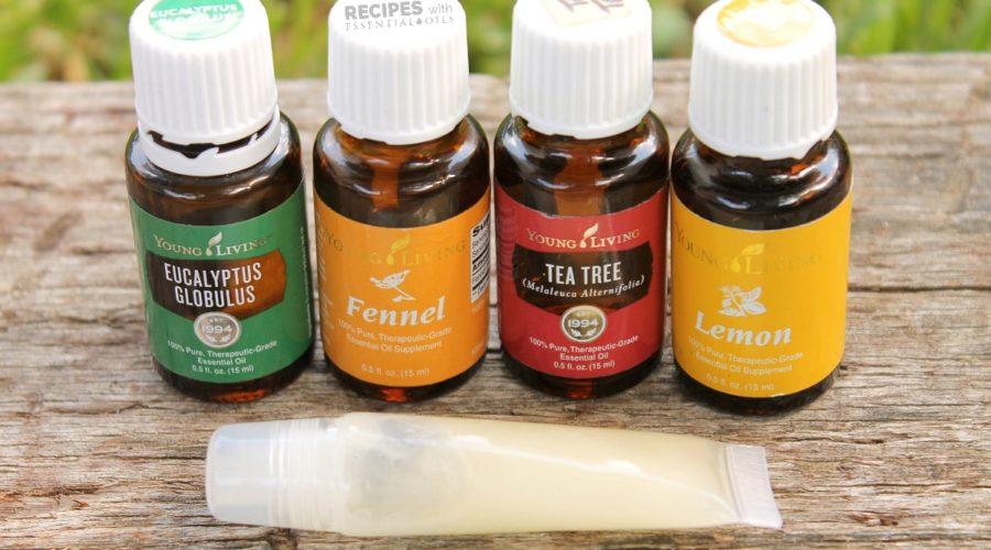 Homemade All Natural Blemish Gel Recipe from RecipeswithEssentialOils.com