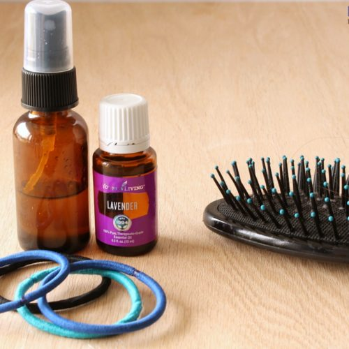 Homemade Hair Detangler Spray from RecipeswithEssentialOils.com