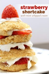 Jazzed Up Strawberry Shortcake