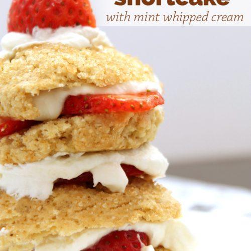 Jazzed up Strawberry Shortcake Recipe with Vitality Essential Oils from RecipeswithEssentialOils.com