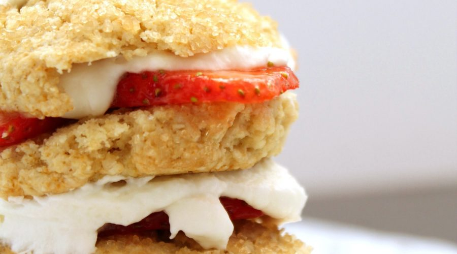 Jazzed up Strawberry Shortcake Recipe with Vitality Essential Oils from RecipeswithEssentialOils.com