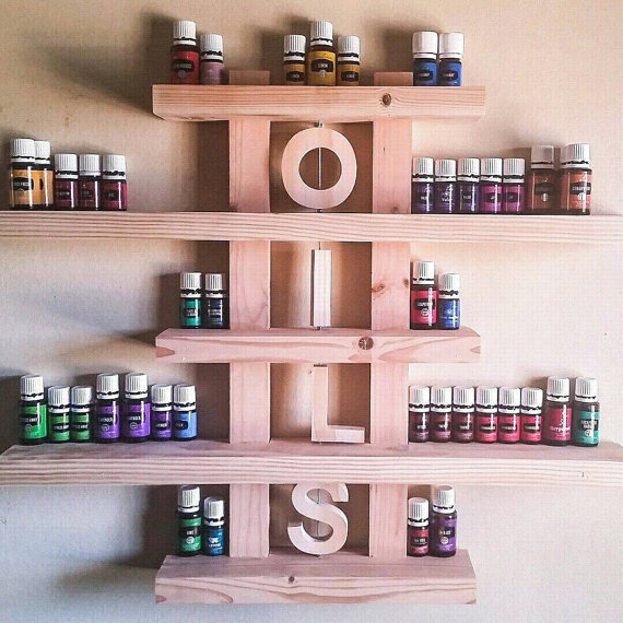 oils shelf