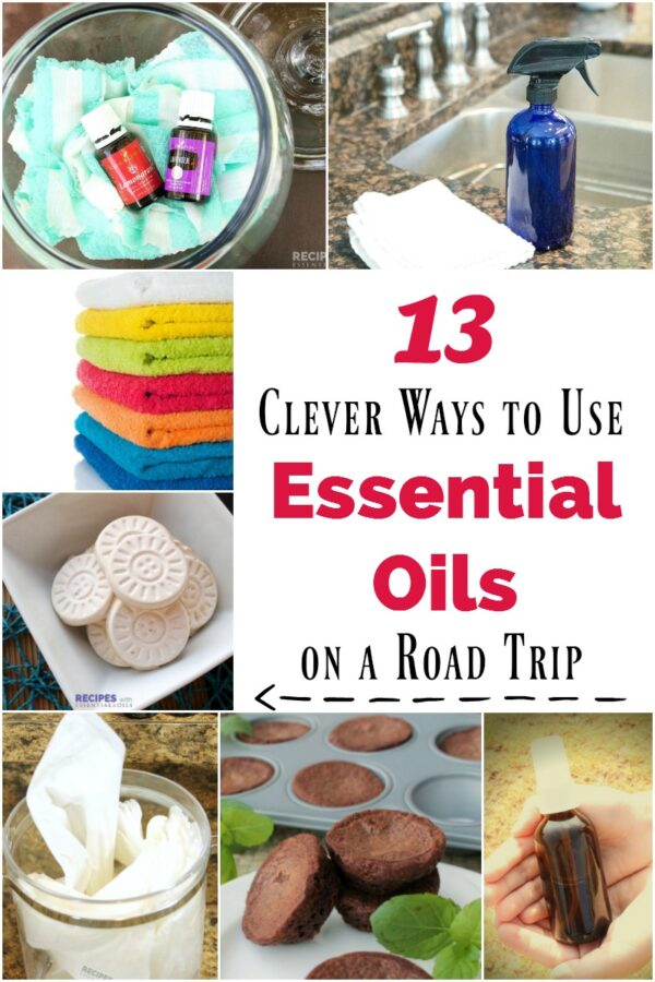 13 Clever Ways to Use Essential Oils on a Road Trip from RecipeswithEssentialOils.com