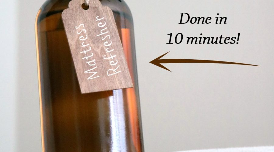 5 Easy Steps to Clean and Freshen Your Mattress from RecipeswithEssentialOils.com