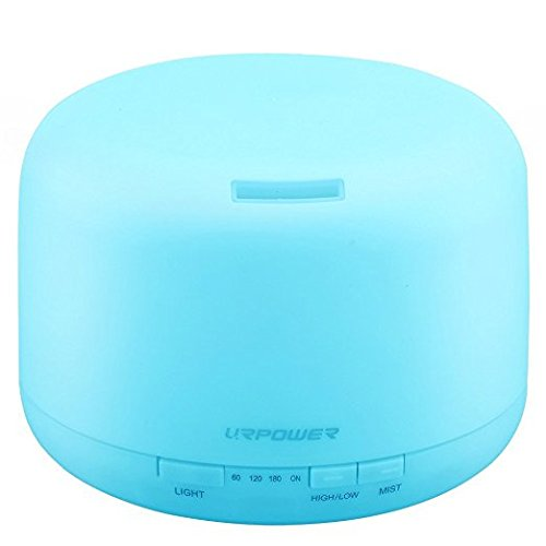 essential oil diffuser blue