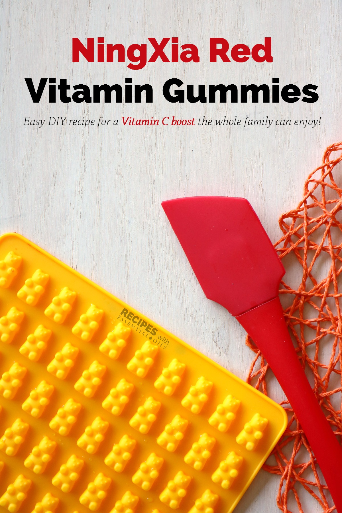 NingXia Red Vitamin Gummies Recipe from RecipeswithEssentialOils.com