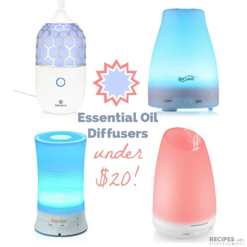 Top Picks for Essential Oil Diffusers under $20 from RecipeswithEssentialOils.com
