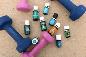 9 Essential Oils for Fitness + Post Workout Peanut Butter Protein Smoothie