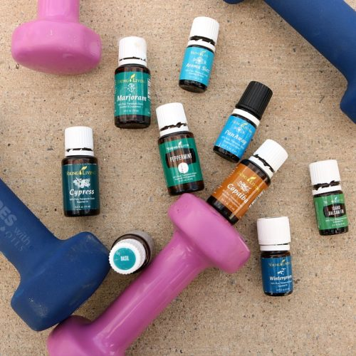 9 Essential Oils for Fitness from RecipeswithEssentialOils.com