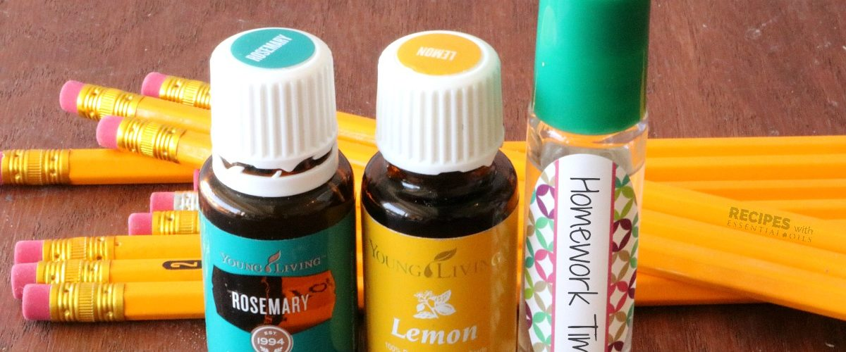 Back To School Success with Oils + 3 Recipes for Calm and Focused Kids