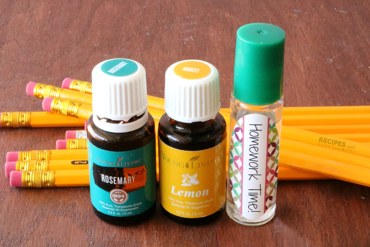 Back To School Success with Oils + 3 Recipes for Calm and