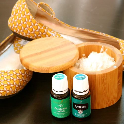 Shoe and Foot Deodorizing Powder Recipe from RecipeswithEssentialOils.com