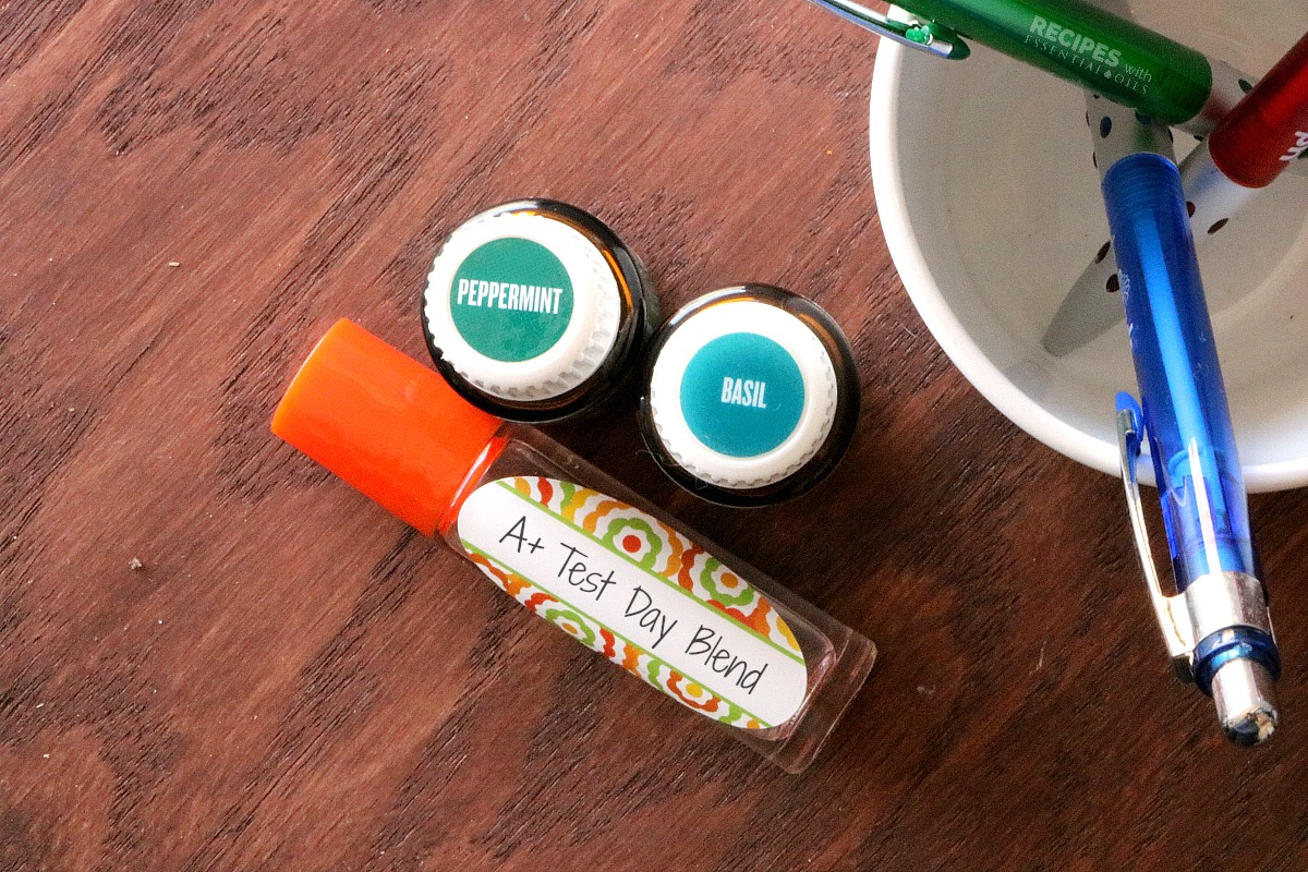 Back to School Success with Essential Oil Roll On Blends from RecipeswithEssentialOils.com