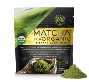 matcha organic green tea powder
