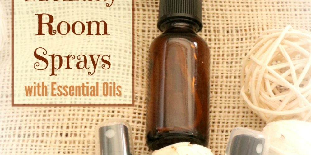 20 Essential Oil Holiday Room Sprays
