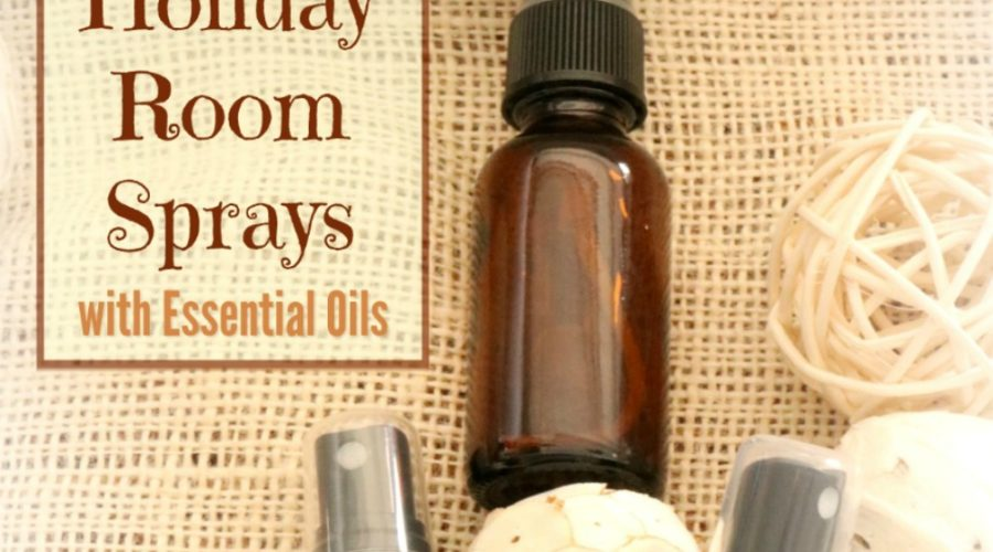 20 Essential Oil Holiday Room Sprays
