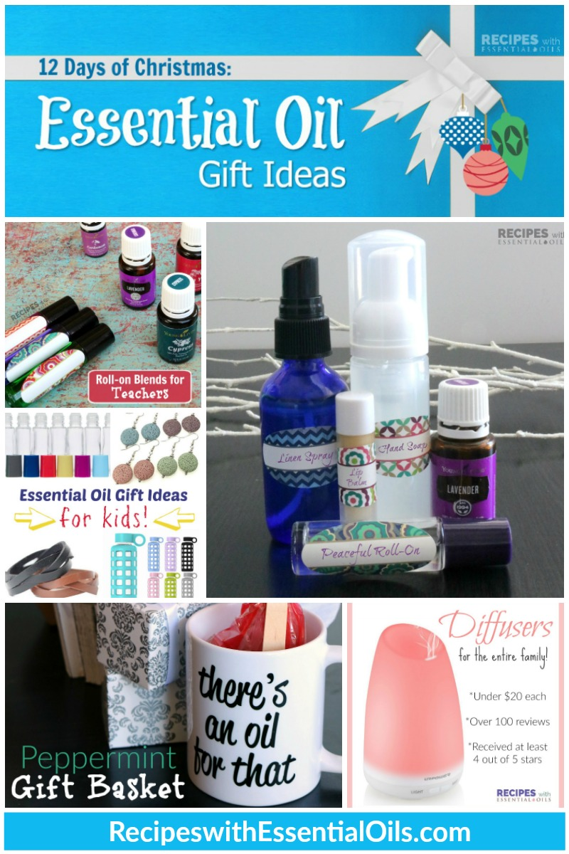 12 Days of Christmas Essential Oil Gift Ideas from RecipeswithEssentialOils.com