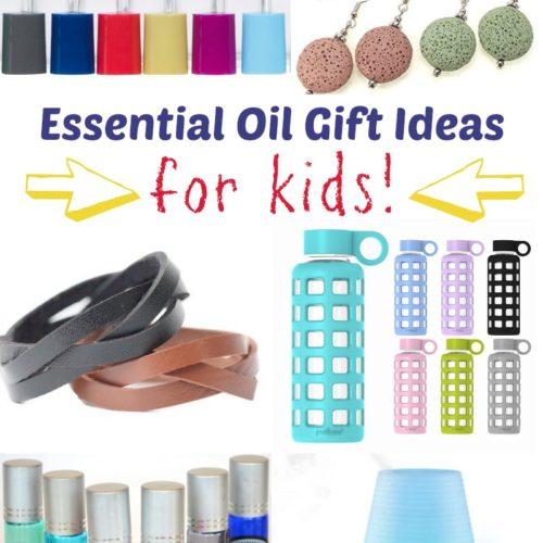 Essential Oil Gift Ideas for Kids from RecipeswithEssentialOils.com