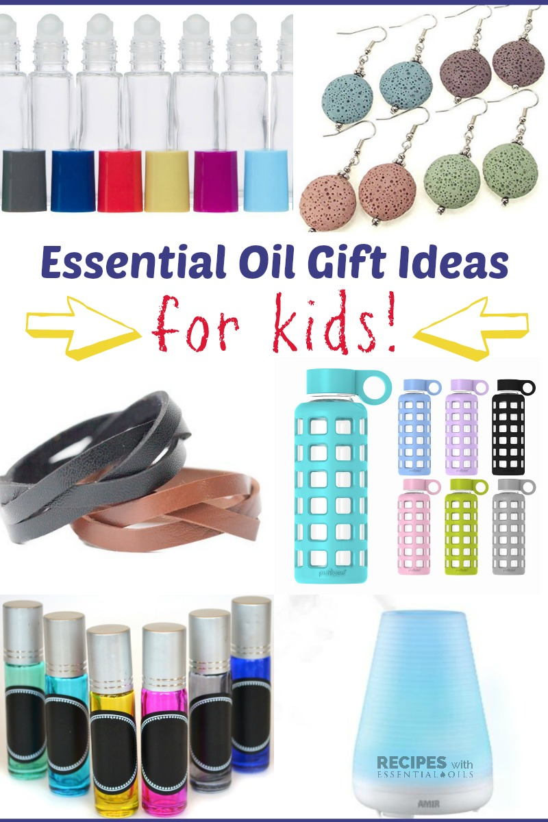 Essential Oil Gift Ideas for Kids from RecipeswithEssentialOils.com