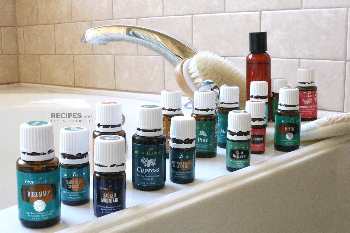 7 Body Wash Recipes for Men from RecipeswithEssentialOils.com