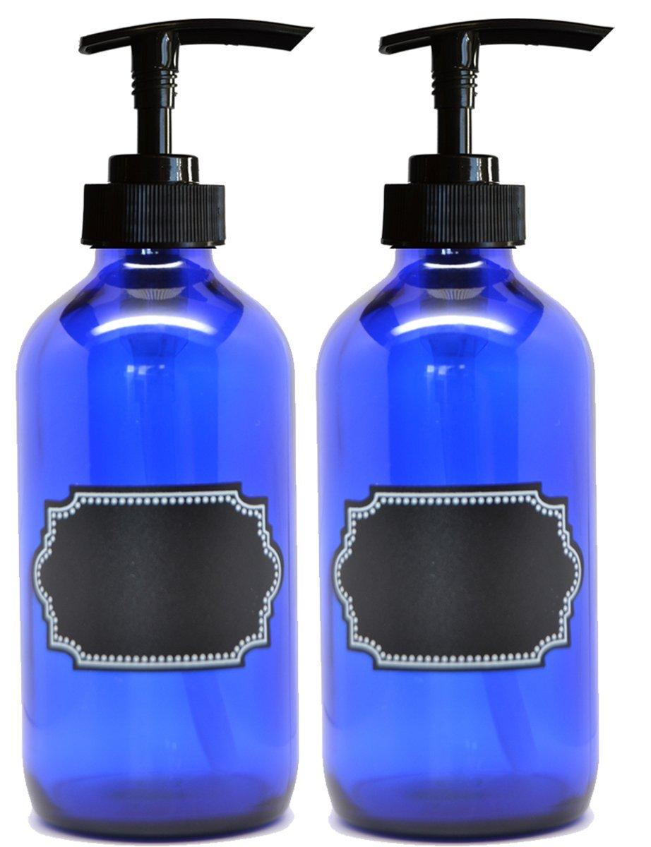 cobalt-glass-pump-bottles