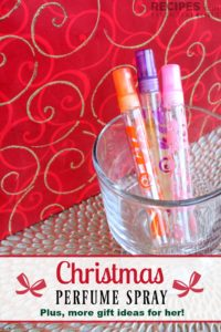 Essential Oil Gifts for Her + Christmas Perfume Spray
