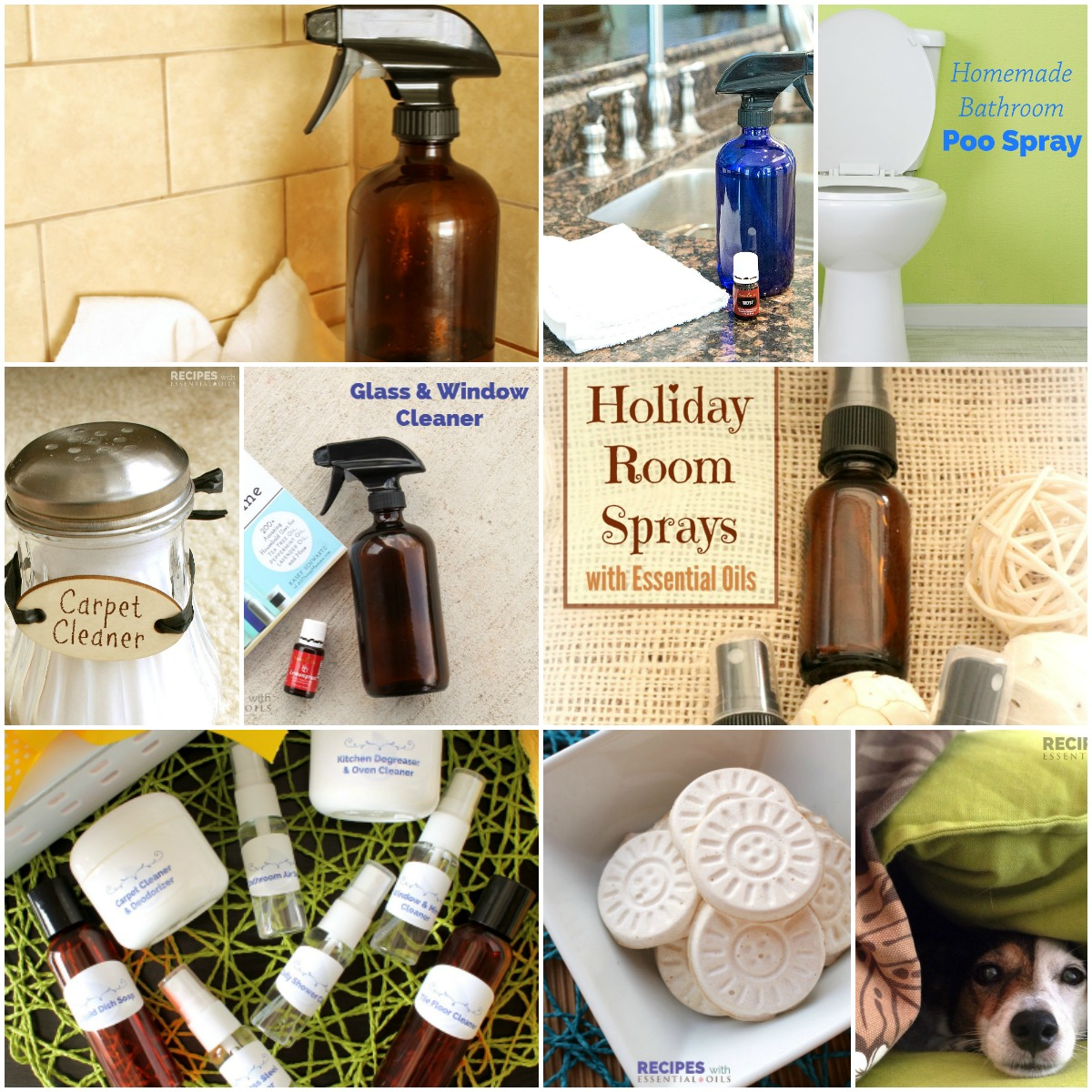 Household Cleaning Gift Basket ~ an oily gift idea for a pure non-toxic. New to essential oils?  sc 1 st  Recipes with Essential Oils & Household Cleaning Gift Basket - Recipes with Essential Oils
