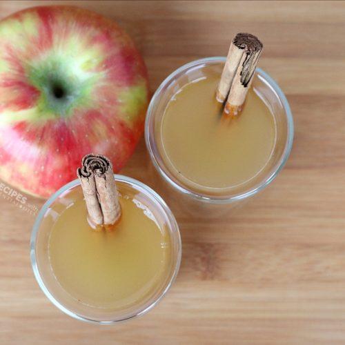 Spiced Apple Cider Recipe from RecipeswithEssentialOils.com