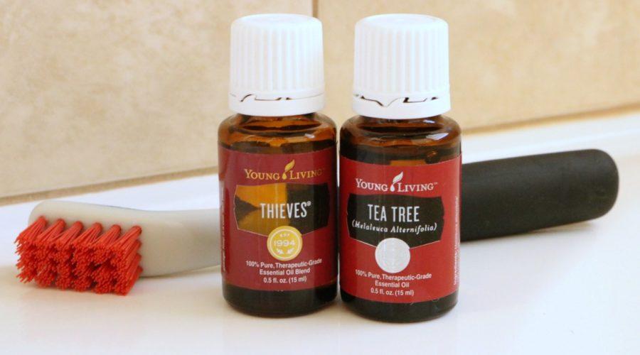 Bathroom Tile Cleaner Recipe from RecipeswithEssentialOils.com