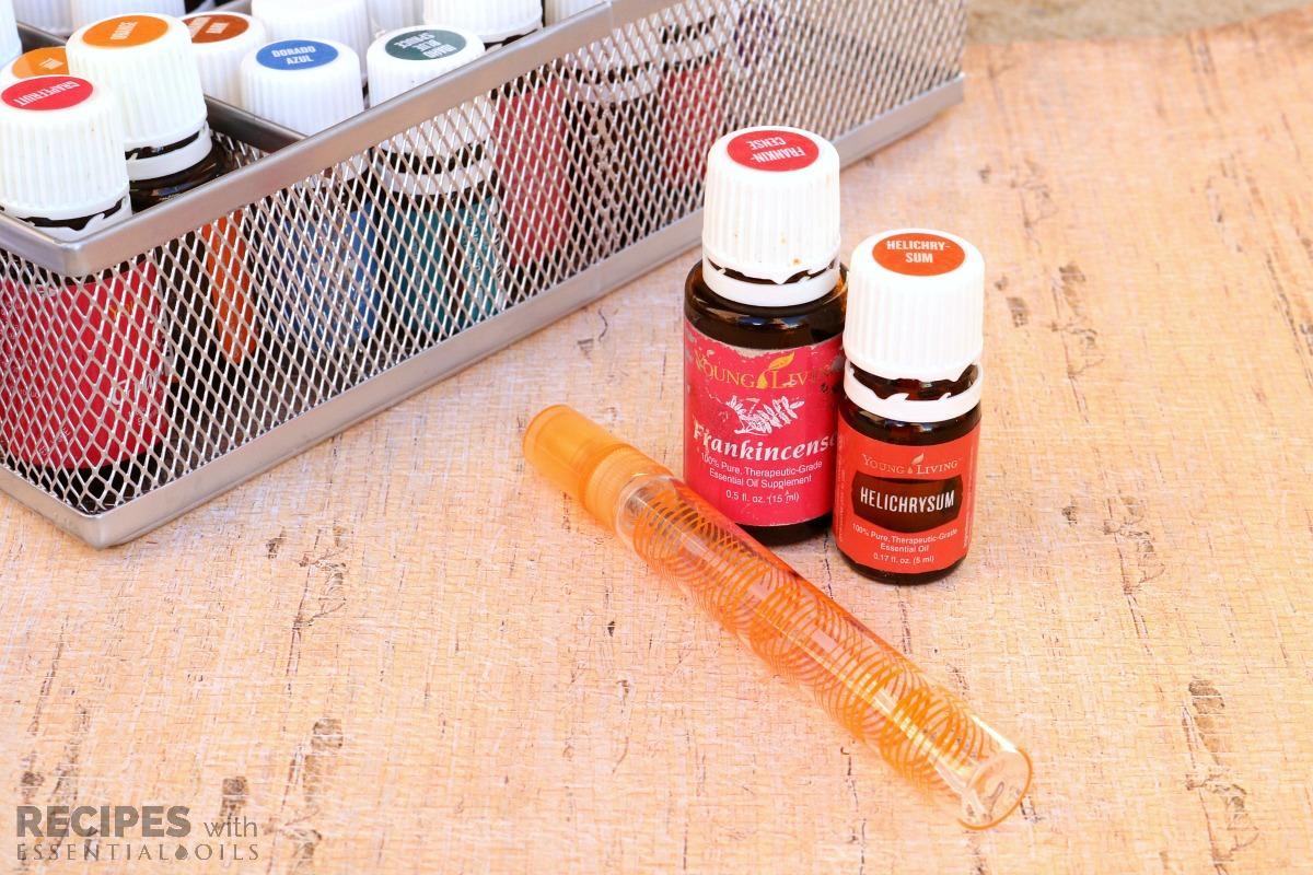 Non-Floral Essential Oil Perfume Spray Recipes