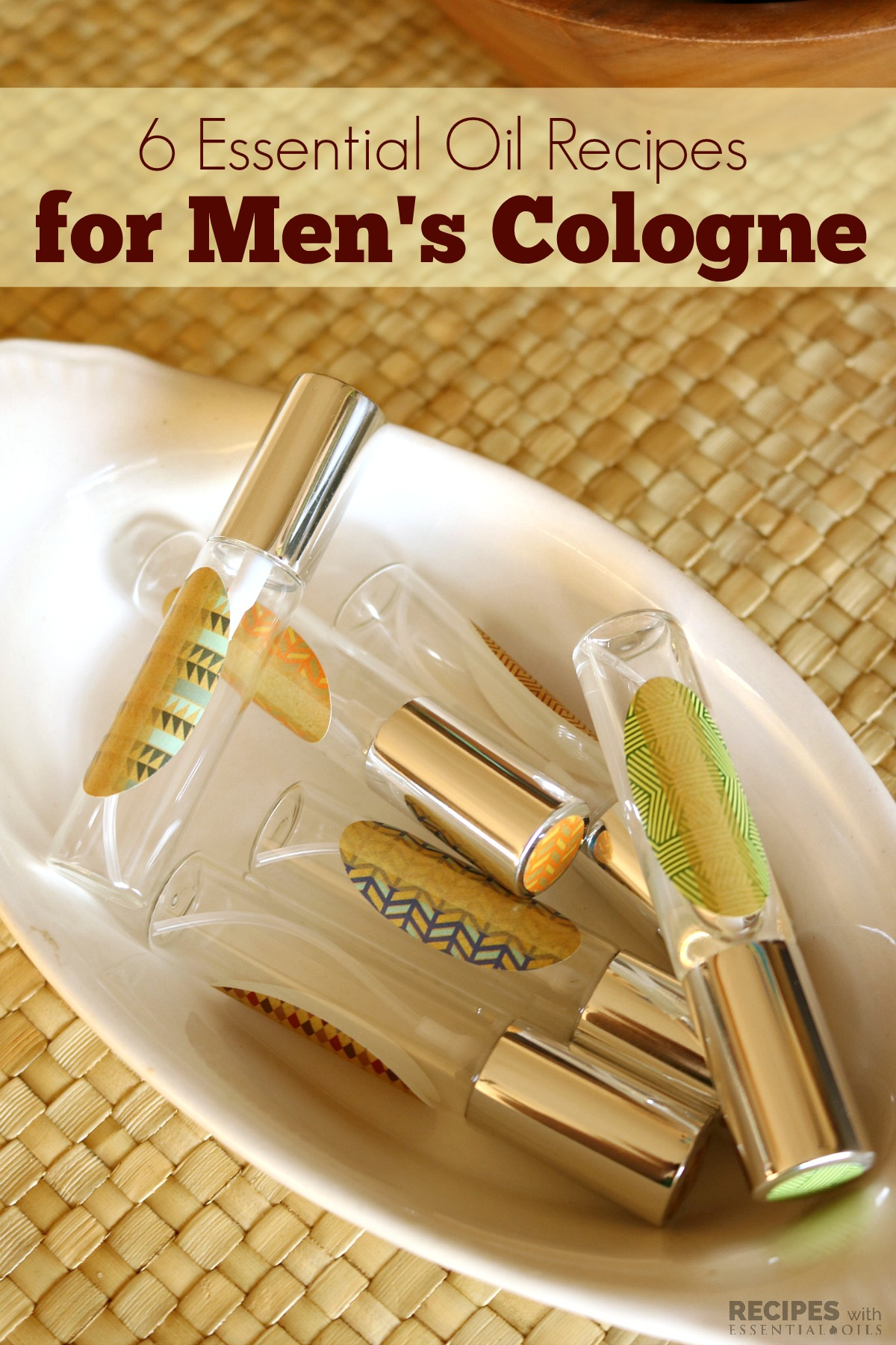Essential Oil Recipes for Men's Cologne