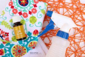 Lemon Dust Spray with Essential Oils