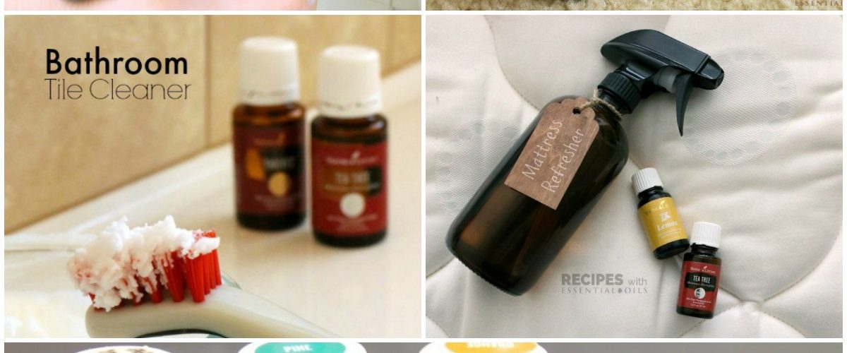 6 Best Essential Oil Spring Cleaning Recipes