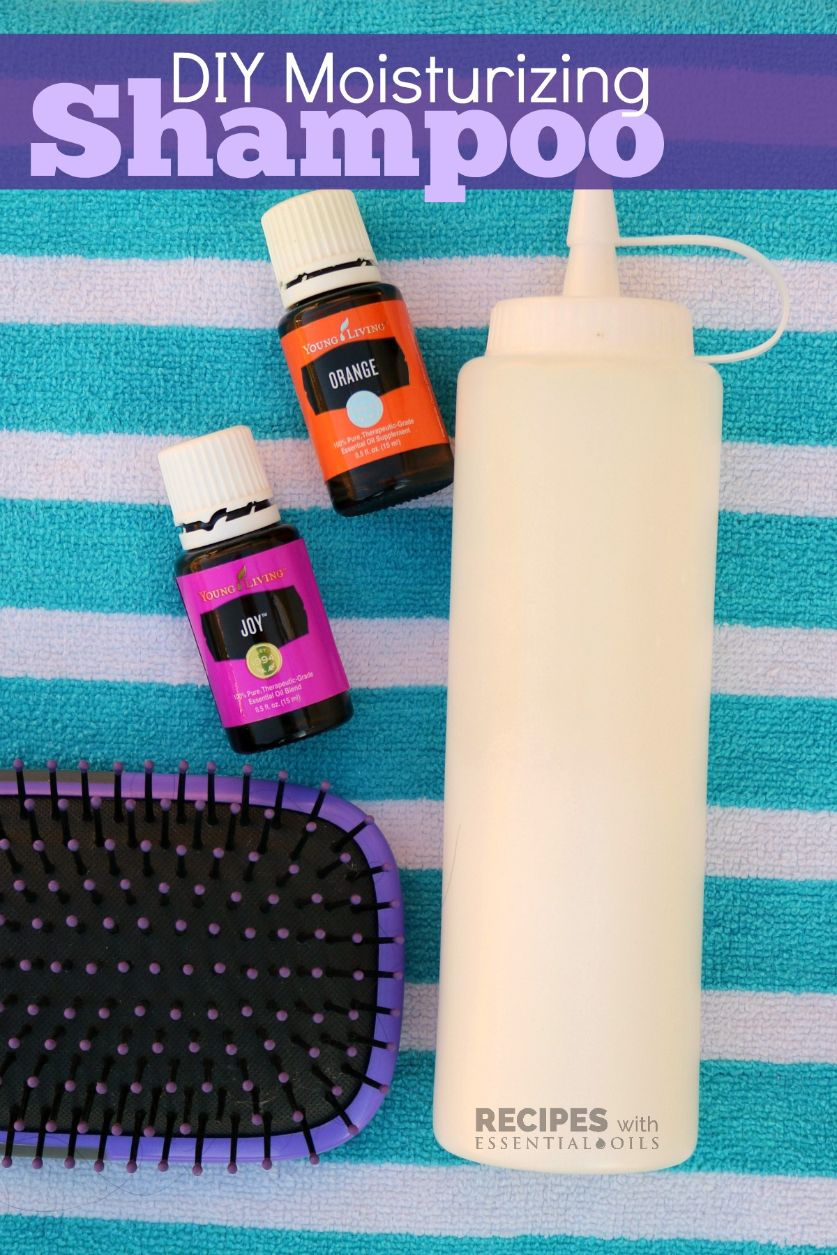 DIY Moisturizing Shampoo - Recipes with