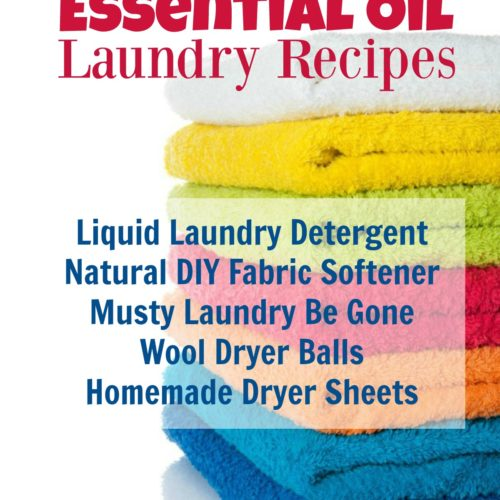 5 Best Essential Oil Laundry Recipes from RecipeswithEssentialOils.com