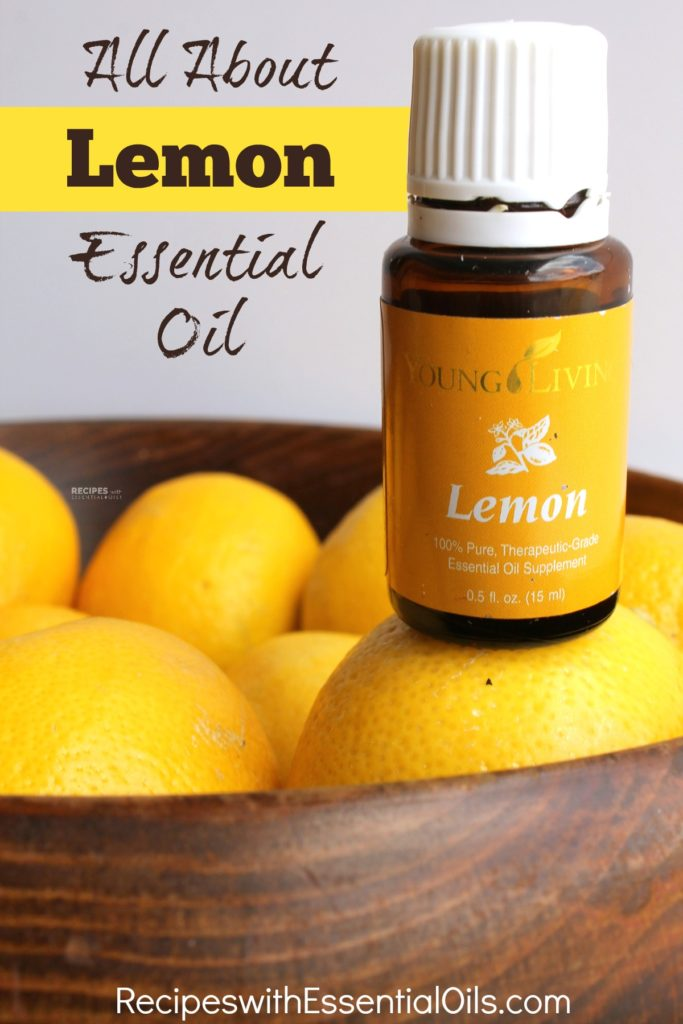 All About Lemon Essential Oil from RecipeswithEssentialOils.com