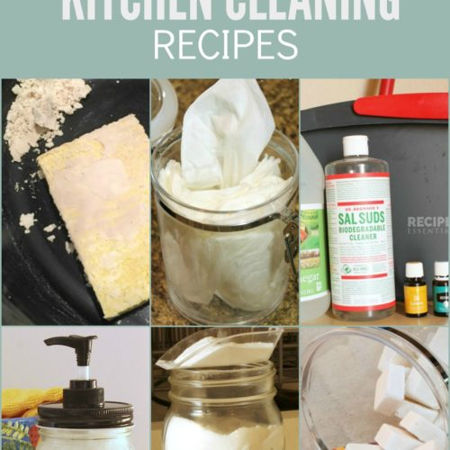 7 Best Essential Oil Kitchen Cleaning Recipes from RecipeswithEssentialOils.com