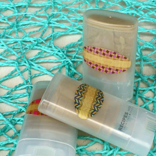 Women's Solid Deodorant Recipes from RecipeswithEssentialOils.com