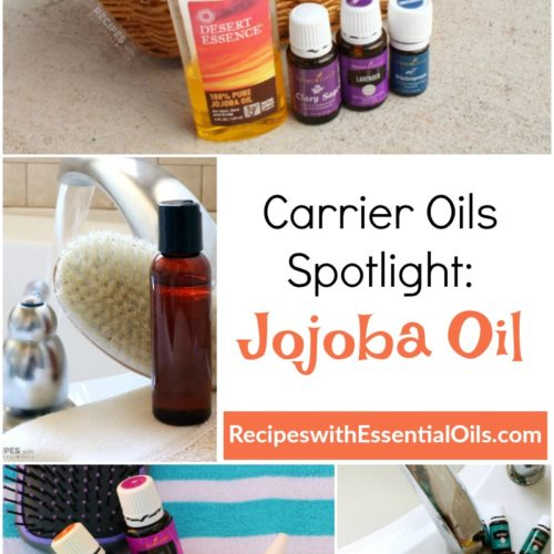 Carrier Oil Spotlight: Jojoba Oil Benefits & Recipes from RecipeswithEssentialOils.com